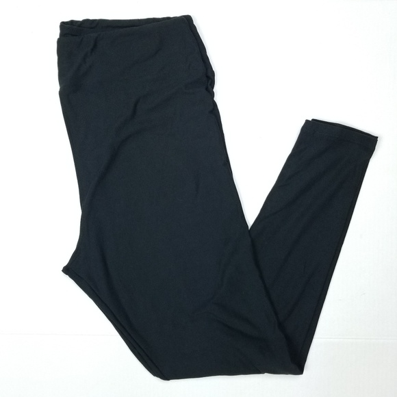 8d0393f7987990 LuLaRoe Pants | Leggings Solid Black Noir Nwot Sz Tc2 | Poshmark